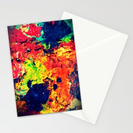 Painting Palette Stationery Cards