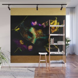 Intrigue with a venetian mask Wall Mural