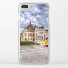 Parliament Of Budapest Clear iPhone Case