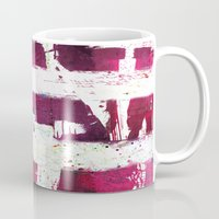 puerto rico Mugs featuring Puerto Rico Flag by Fresh & Poppy