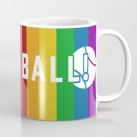 dragon ball Mugs featuring BALL! by TheBluPup