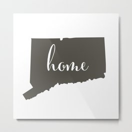 Connecticut is Home Metal Print