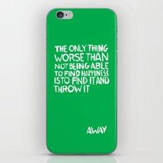 ...Away (Vers. 2) iPhone Skin