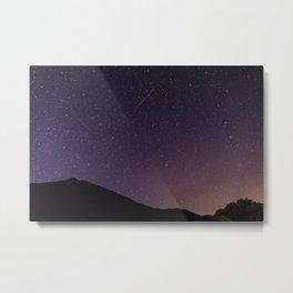 Teide by Night Skies Metal Print