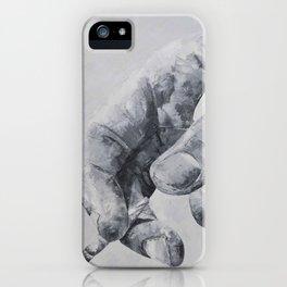 Manos iPhone Case