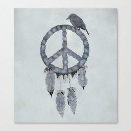 A dreamcatcher for peace Canvas Print