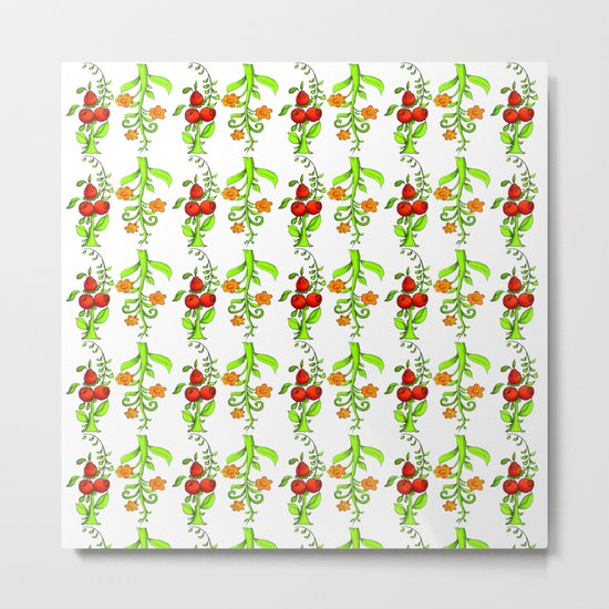 bright trees and fruits Metal Print