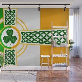 Celtic Irish Flag Wall Mural