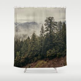 Forces Shower Curtain