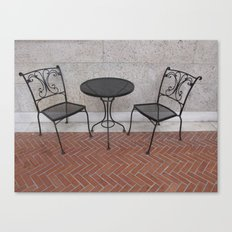 Have a Seat Canvas Print