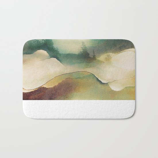 Forest Haze Bath Mat