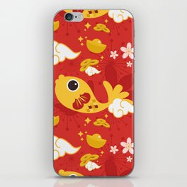 Happy And Lucky iPhone Skin