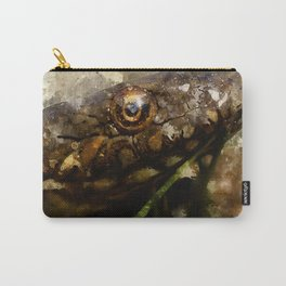 """Viperine water snake """"Natrix maura"""" - watercolor Carry-All Pouch"""