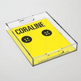 Coraline Acrylic Tray