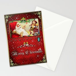 Christmas Vintage 124 Stationery Cards