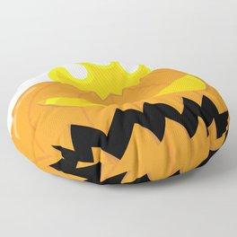 Jack O'Lantern Monster Floor Pillow