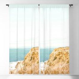 Travel photography Palos Verdes Ocean Cliffs Seascape Landscape II Blackout Curtain