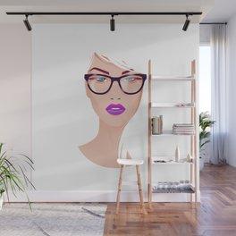 Hipster Beauty Wall Mural