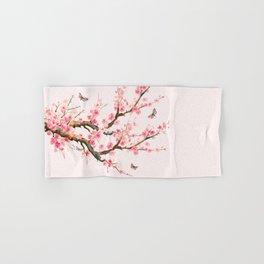 Pink Cherry Blossom Dream Hand & Bath Towel