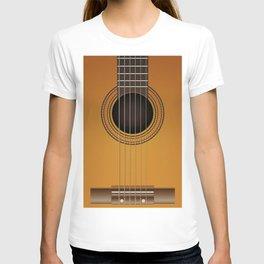 classical guitar music T-shirt