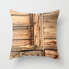 Ancient Mariner's Wood Throw Pillow