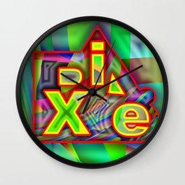 Dix.e #1 Wall Clock