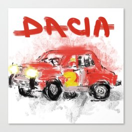 dacia 1300 Canvas Print