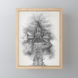 Sovngarde Hall of Valor from Skyrim Framed Mini Art Print