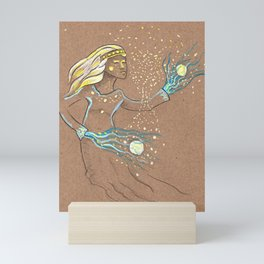 Star Girl Mini Art Print