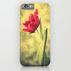 Red Tulips Slim Case iPhone 6s