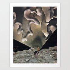 Calcium Art Print