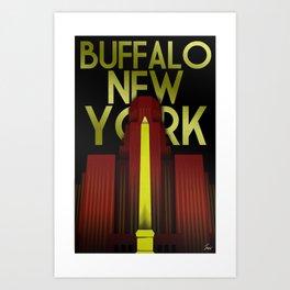 Buffalo, NY Art Print