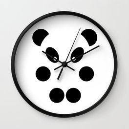 Little panda #society6 #decor #buyart #artprint Wall Clock