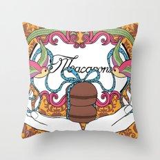 Macarons 01 Throw Pillow