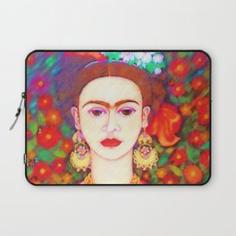 My other Frida Kahlo with butterflies Laptop Sleeve