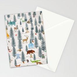 little nature woodland Stationery Cards