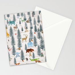 little nature woodland Stationery Cards