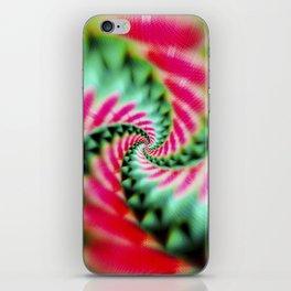 Cosmic Watermelon Swirl iPhone Skin