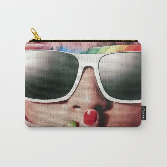 Carnaval girl Carry-All Pouch