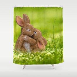 Easter Bonny | Lapin de Pâques Shower Curtain