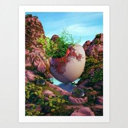 Spud Art Print