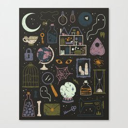 Haunted Attic Canvas Print