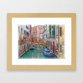 Venetian Idyll Framed Art Print