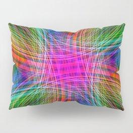 Rainbow Streaks Pillow Sham