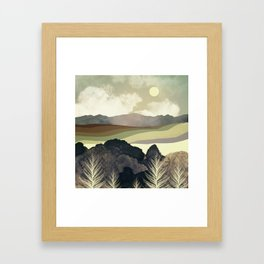 Retro Afternoon Framed Art Print