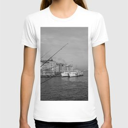 Bosphorus view from Galata Bridge T-shirt