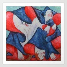 Shunga Art Print