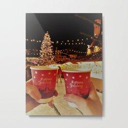 Christmas night Metal Print