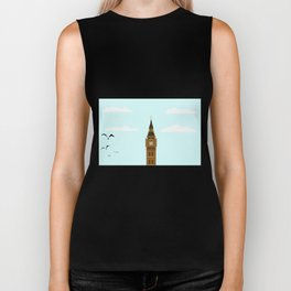 Big Ben Blue Skies Biker Tank