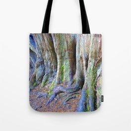 Rainbow Trees Tote Bag